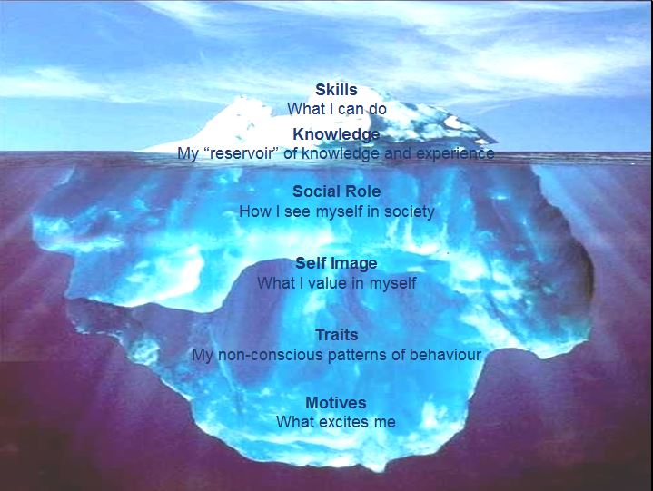 Acknowledgement: Iceberg Model from the Hay Group