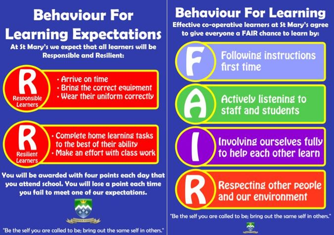Behaviour - B4L Rules & Expectations