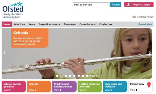 Ofsted Home Page