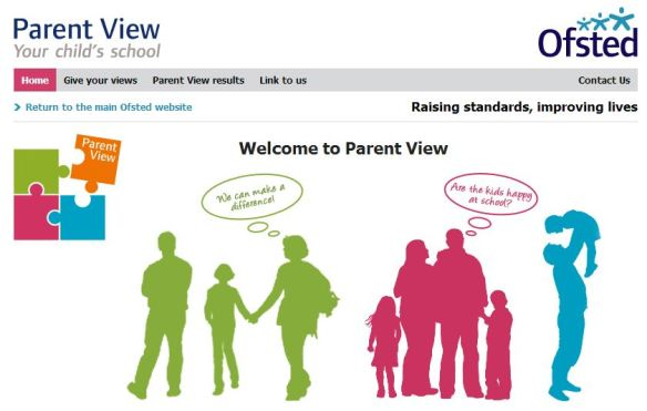 Parent View Home Page