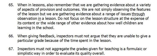 Subsidiary Guidance on Quality of Teaching, January 2014