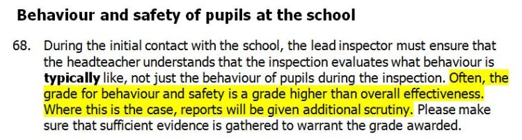 Ofsted Subsidiary Guidance p.19 - January 2014