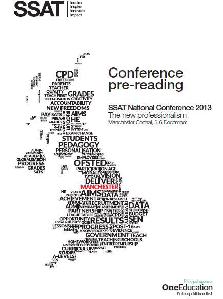 SSAT National Conference 2013