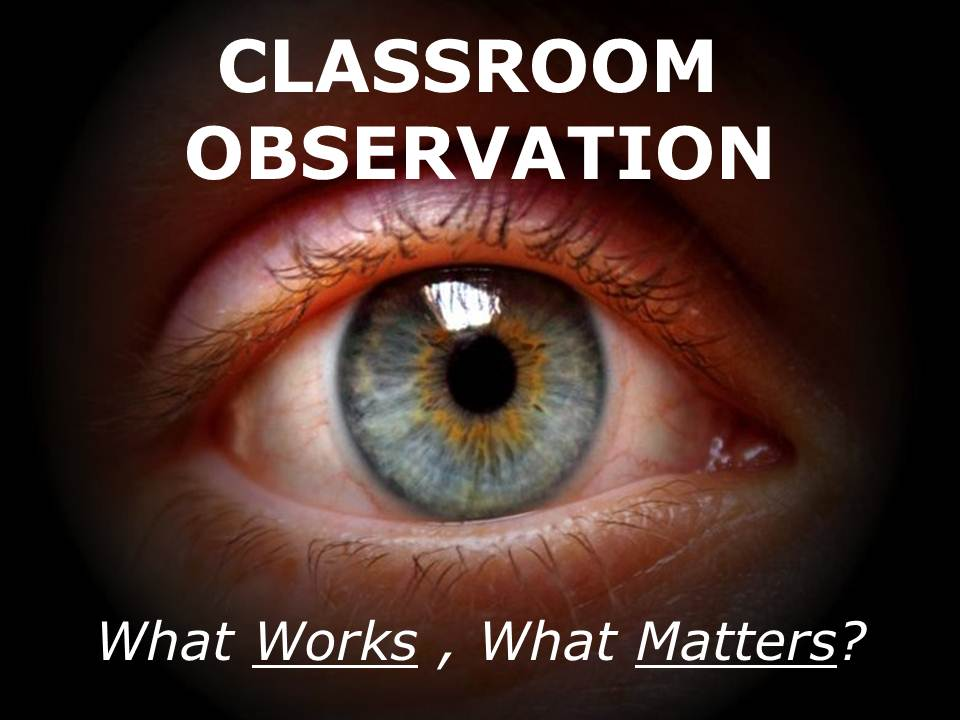 Observing Lessons, So What's Changed? (1/3)
