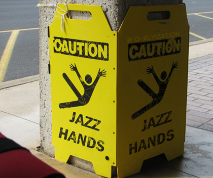 Photo Credit: Jazz Hands by O Ryization on www.deviantart.com
