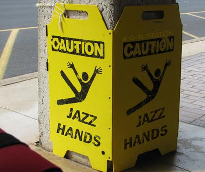 Photo Credit: Jazz Hands by O Ryization on www.deviantart.com