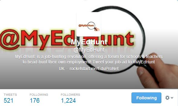 @MyEdHunt A new way of advertising and finding jobs