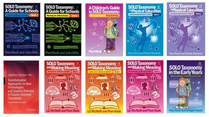 SOLO Books available from http://pamhook.com/store/