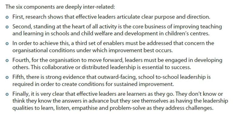 Fullan and Boyle (2013) Reflections on the Change Leadership Landscape, NCTL