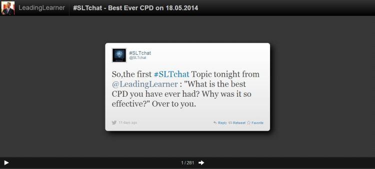Screen Shot of Storify