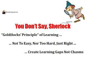 Goldilocks' Principle