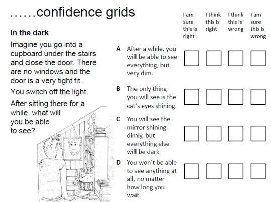 Confidence Grids