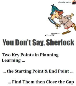 Two Key Points in Learning