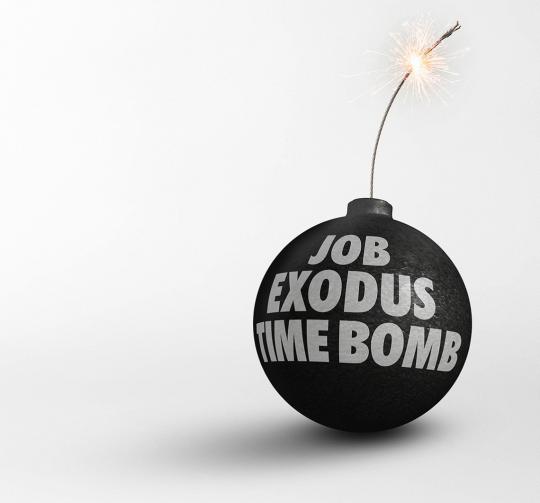 Job Exodus Time Bomb