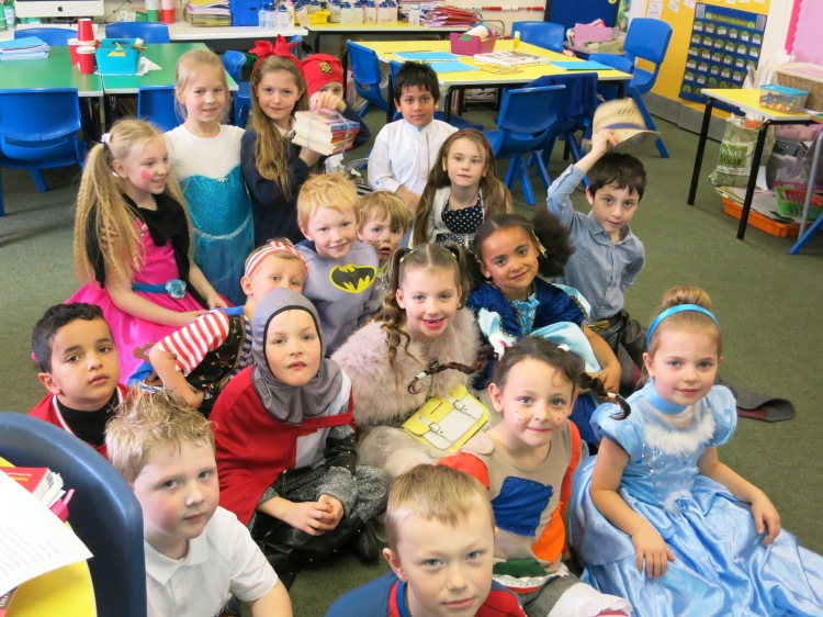 Photo: St. Cuthbert's Children on National Book Day