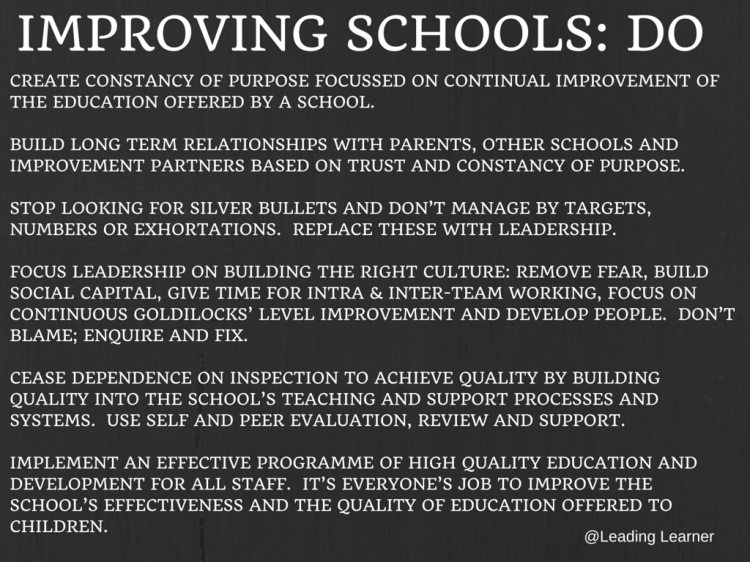 Improving School Do