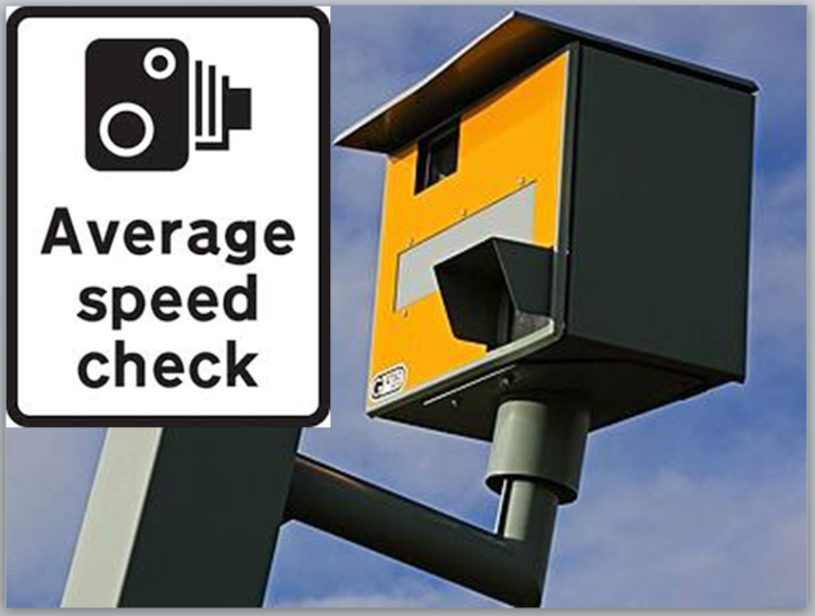 Speed camera & check