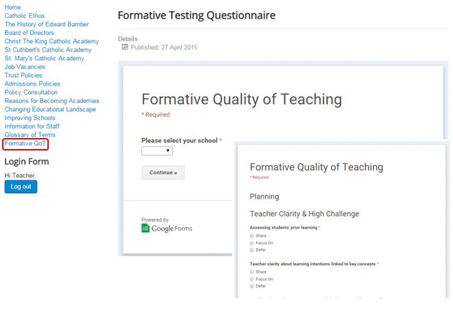 Formative QoT Website