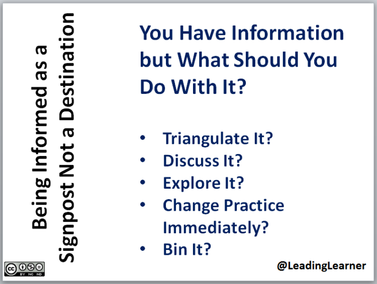 Using Information