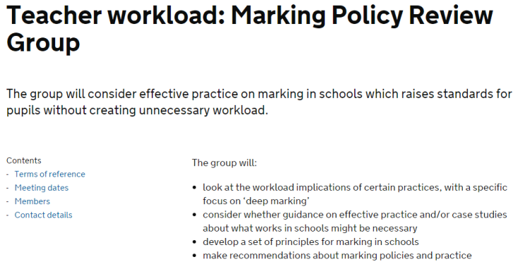 Please click the image to go to the DfE website