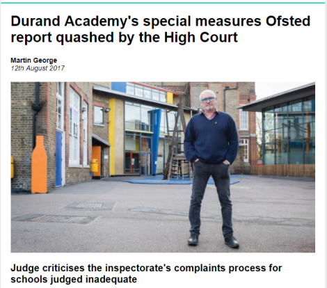 Time to Seriously Question Ofsted?