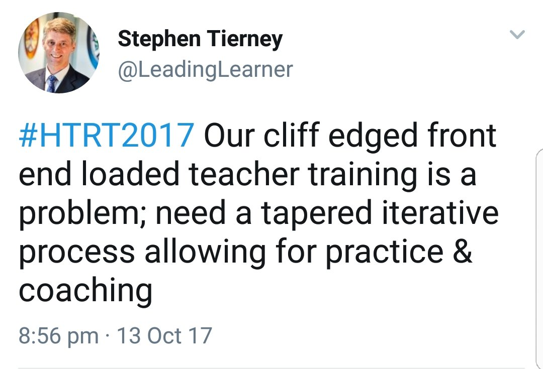 teacher training and development start with a blank piece of paper